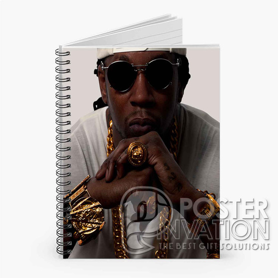 2 Chainz Custom Spiral Notebook Ruled Line Front Cover Gift