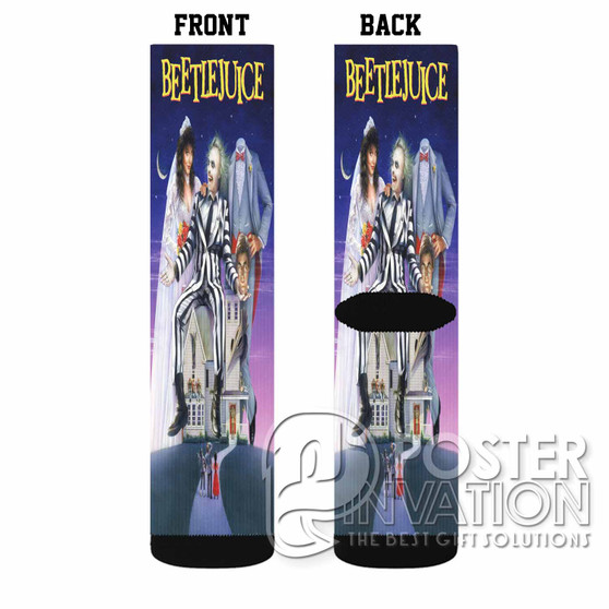 Beetlejuice Custom Socks Sublimation Sports Game Sporting Goods Perfect Gift