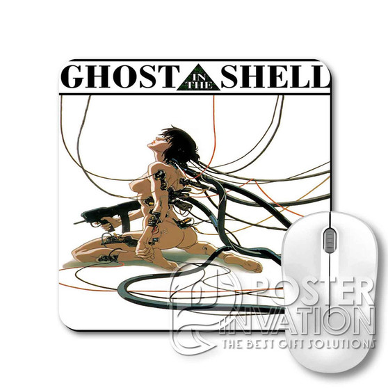 Ghost in The Shell Custom Gaming Mouse Pad Desk PC Laptop Game Keyboard Pad Perfect Gift