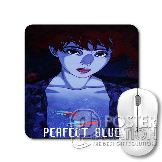 Perfect Blue Anime Custom Gaming Mouse Pad Desk PC Laptop Game Keyboard Pad Perfect Gift
