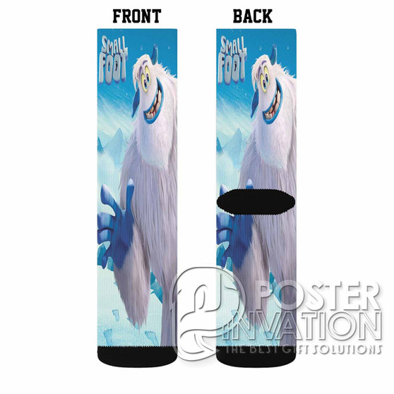 Smallfoot Custom Socks Sublimation Sports Game Sporting Goods Perfect Gift