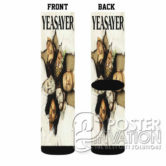 Yeasayer Custom Socks Sublimation Sports Game Sporting Goods Perfect Gift