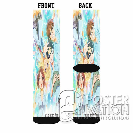 Your Lie in APril Custom Socks Sublimation Sports Game Sporting Goods Perfect Gift