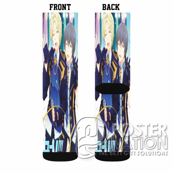 Yuri on Ice Feel The Love Custom Socks Sublimation Sports Game Sporting Goods Perfect Gift