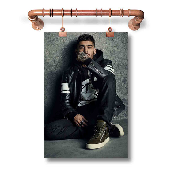 Zayn Malik Custom Art Silk Poster Wall Decor 20 x 13 Inch 24 x 36 Inch