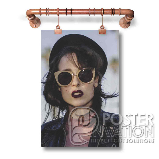 Allie X Custom Art Silk Poster Wall Decor 20 x 13 Inch 24 x 36 Inch