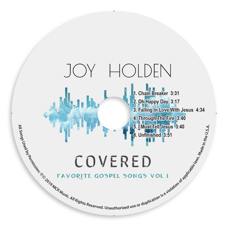 Covered EP Official Disc Image