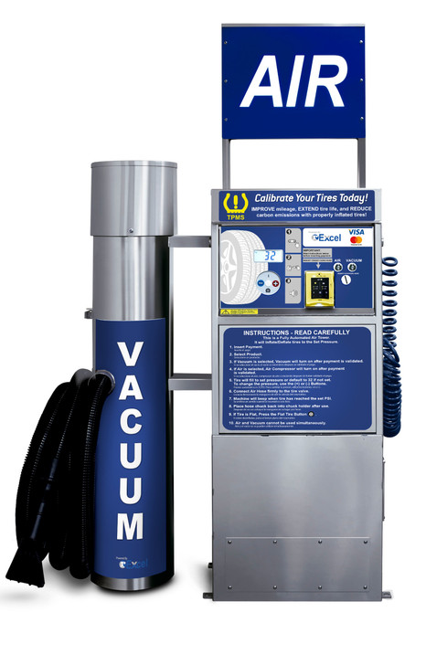 Pay Air and Vacuum Machine – SC09 blue Excel 1