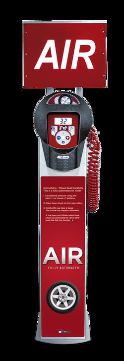 Free Air and Vacuum Machine – SC05 red Excel 1