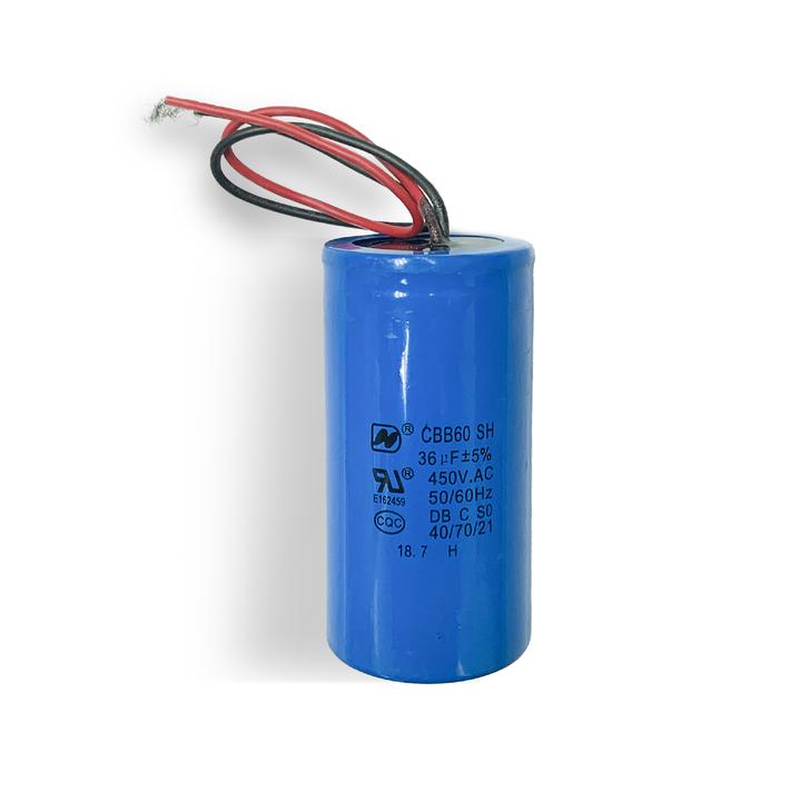 GSE Compressor Start Capacitor - 36µF_Excel Air Machine 2