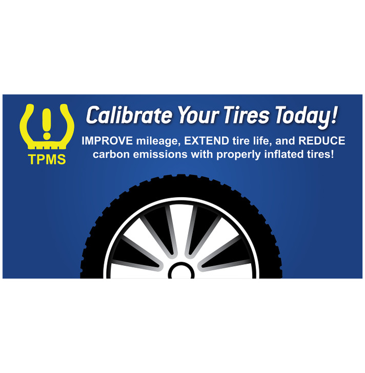 SC12 Calibrate Your Tires Decal