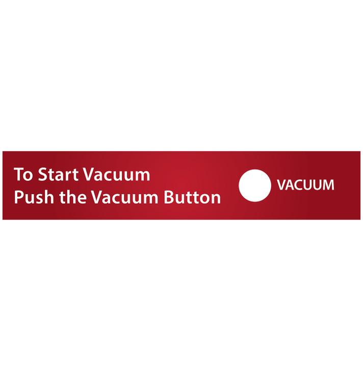 SC12 Single Push Button Air Vac Decal