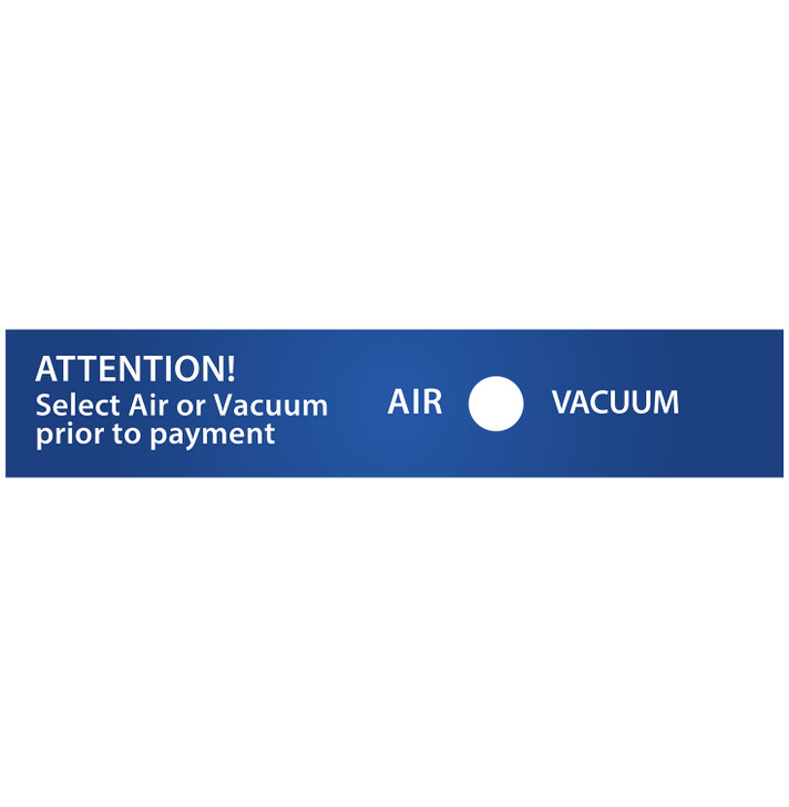 SC12 Vac Toggle Switch Decal