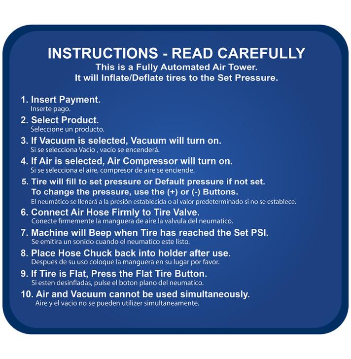 SC12 PAY Instructions Air & Vacuum