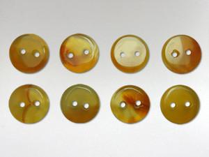 Buttons 10mm - Carnelian