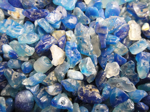 Beads Chip - Blue Agate 100g