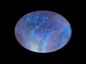 Black Opal - Cabochon 8x10mm