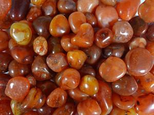 Tumbled Stone - Carnelian 250g