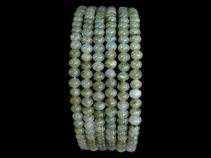 Necklace 4mm Bead - Labradorite