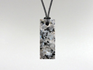 Rectangle Pendant - Sahara Nuummite