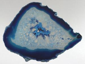 Agate Slice Blue