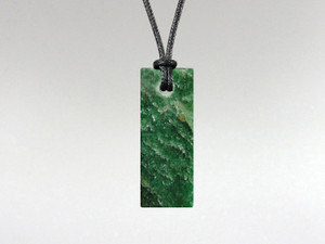 Flat Rectangle Pendant - Fuchsite