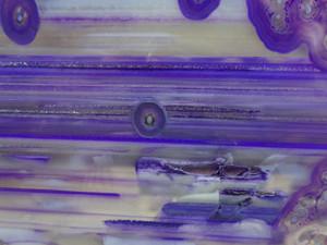 Close up details on agate slice