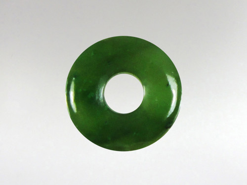 Donut Pendant 15mm - Jade Nephrite
