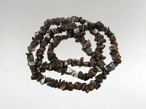 Necklace Chip Bead - Boulder Opal