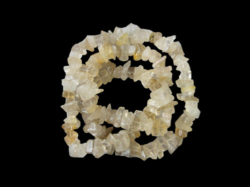 Necklace Chip Bead - Quartz Astrophyllite