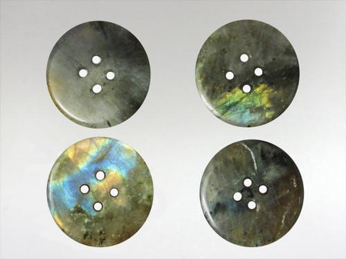 Buttons 20mm - Labradorite