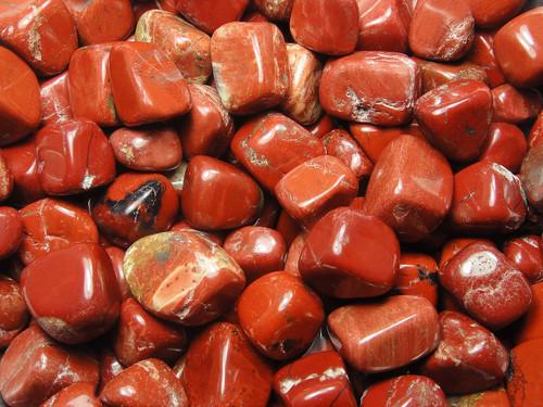 Tumbled Stone - Jasper Red 250g