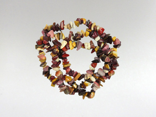 Necklace Chip Bead - Mookite Jasper