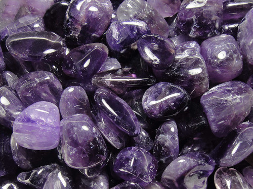 Tumbled Stone - Amethyst 250g