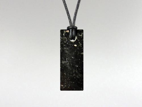 Rectangle Pendant - Nuummite