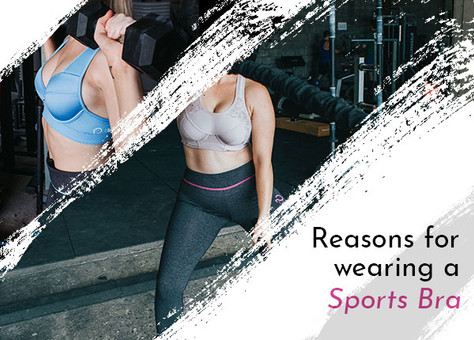 Why should you wear a sports bra?