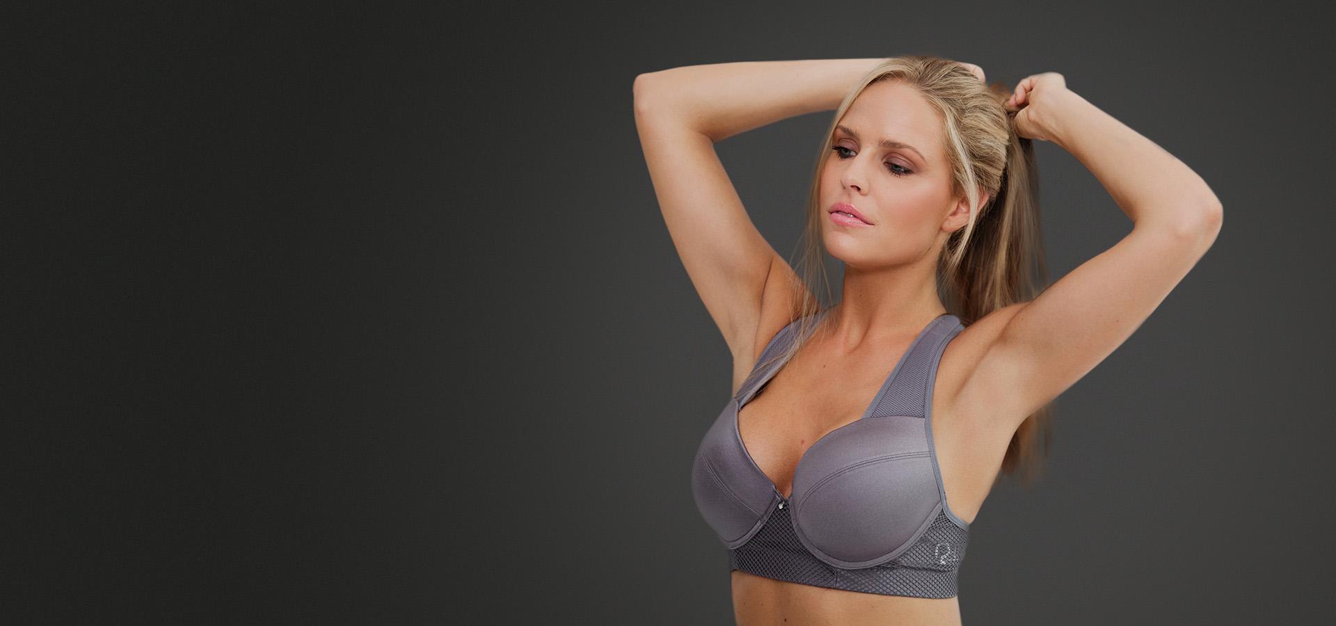 Luxury in a sports bra - sporty chic European luxury sports bras