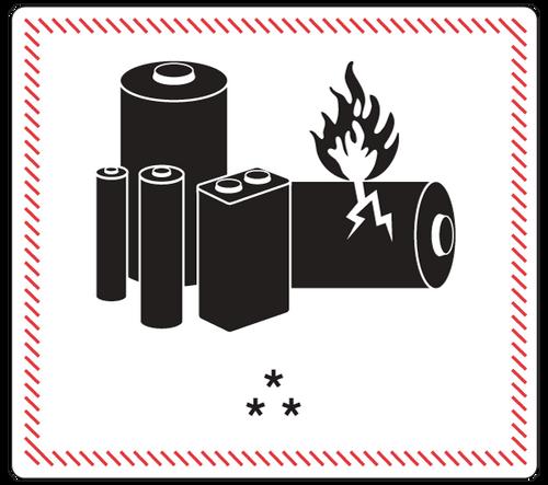 Online Lithium Batteries: Excepted 49CFR/IATA/IMDG