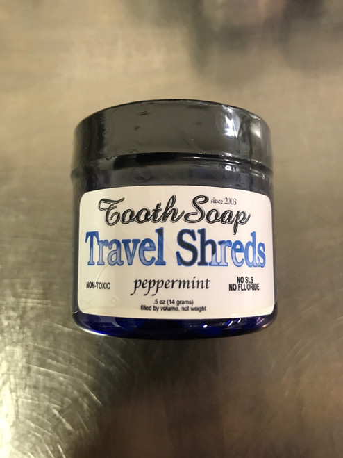 Tooth Soap® Shreds Travel