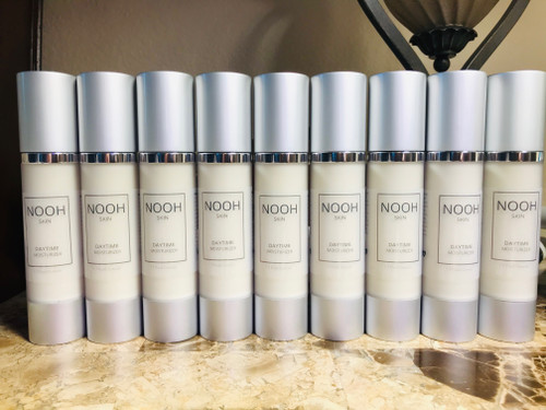 NOOH Daytime Moisturizer loaded with anti-aging and skin-tightening natural ingredients.