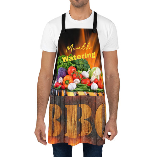 Mouth Watering Veggie BBQ Apron