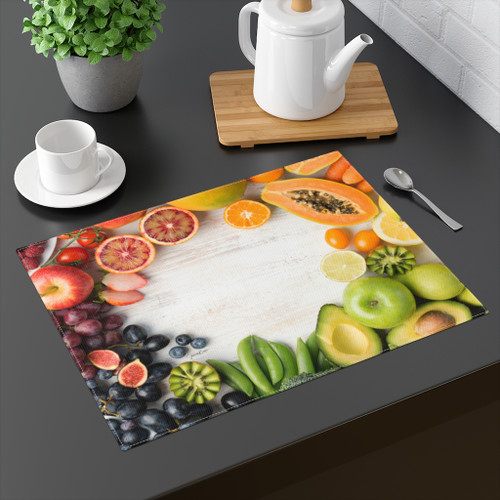 Fruit & Veggie Placemat by GB