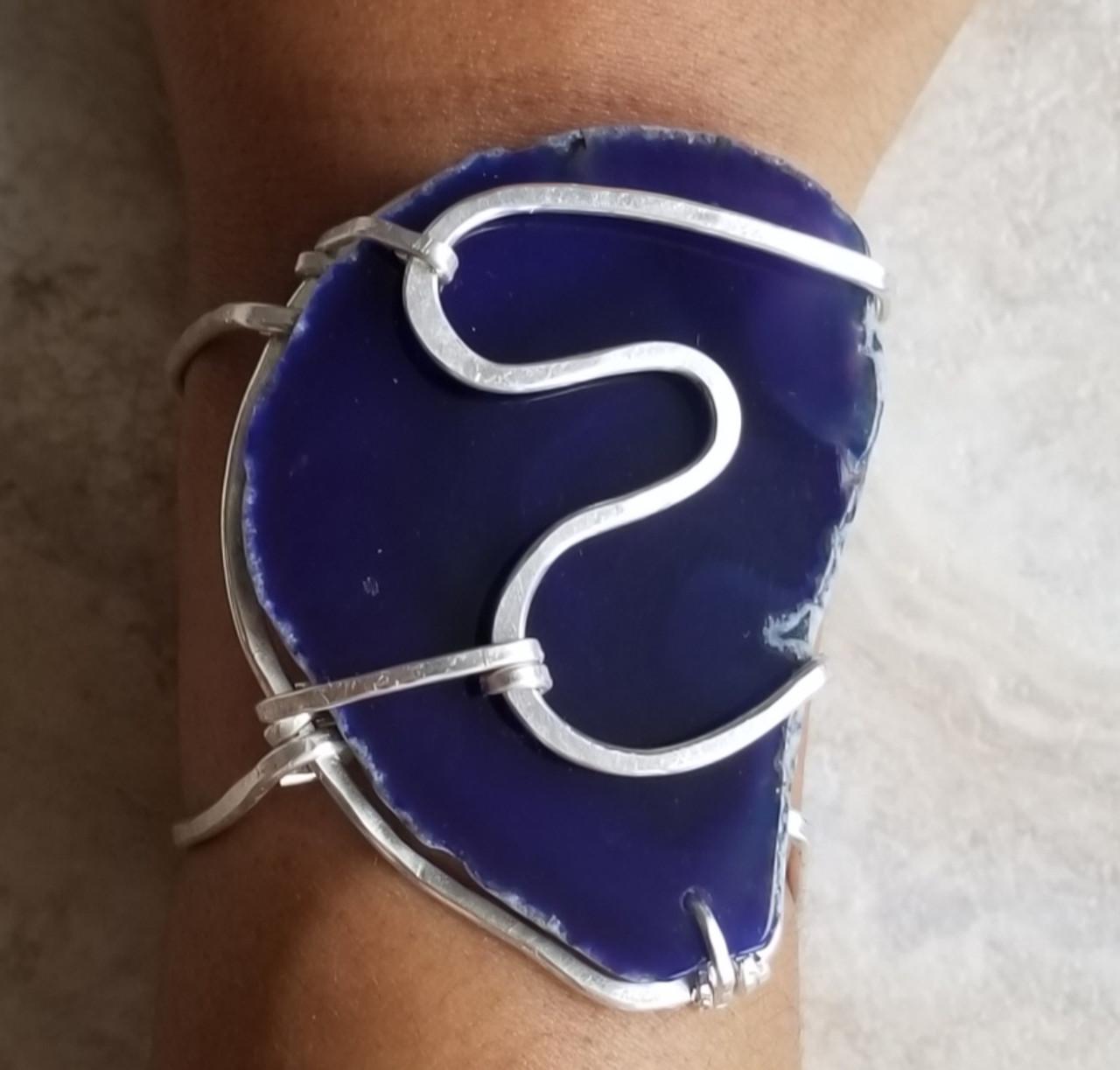 Violet Agate Bracelet