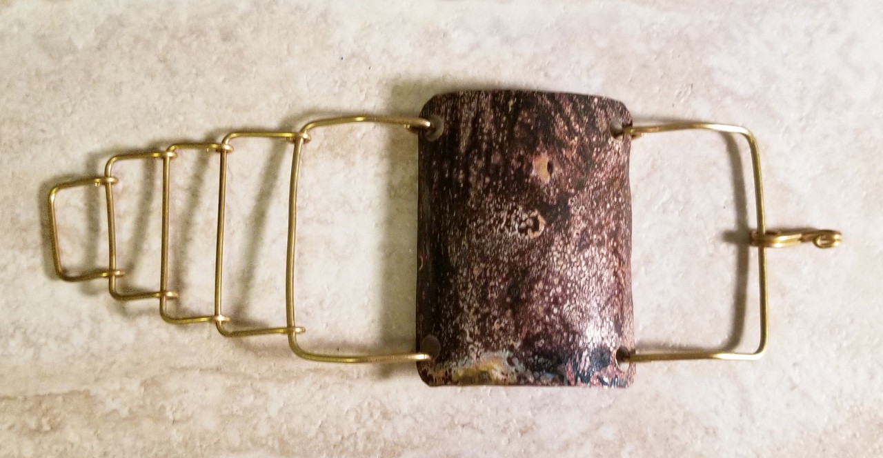 Bronze Patina Bracelet Lrg