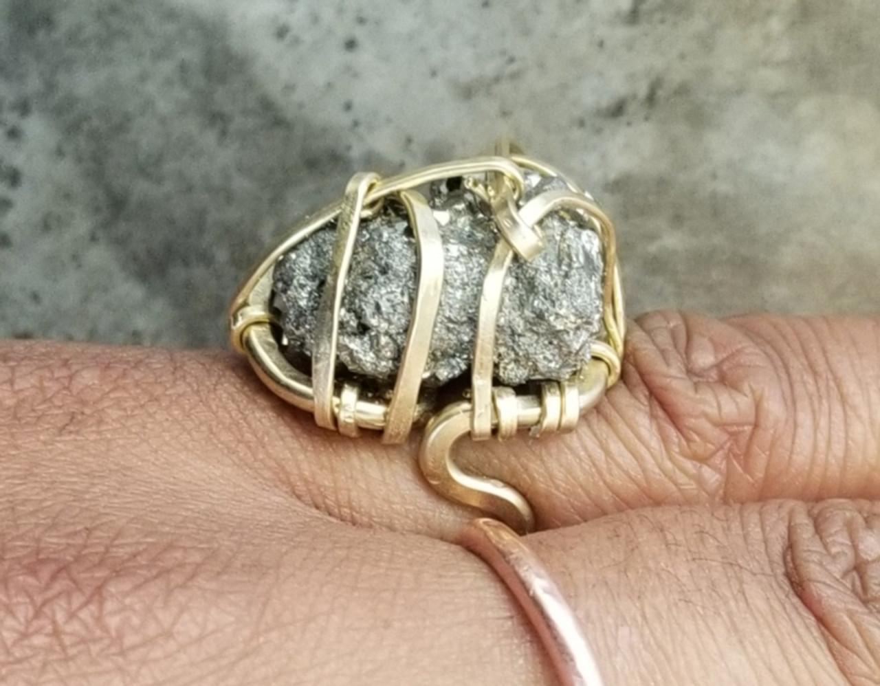 Pyrite Ring