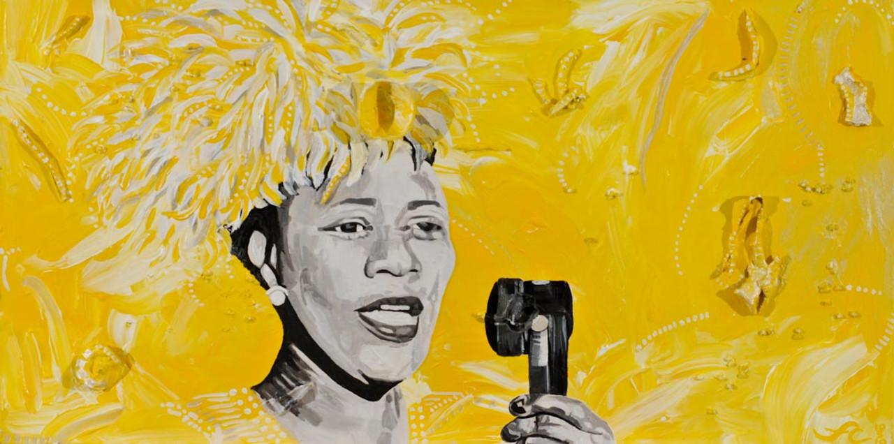 Ella Fitzgerald: Oshun 10 x 18