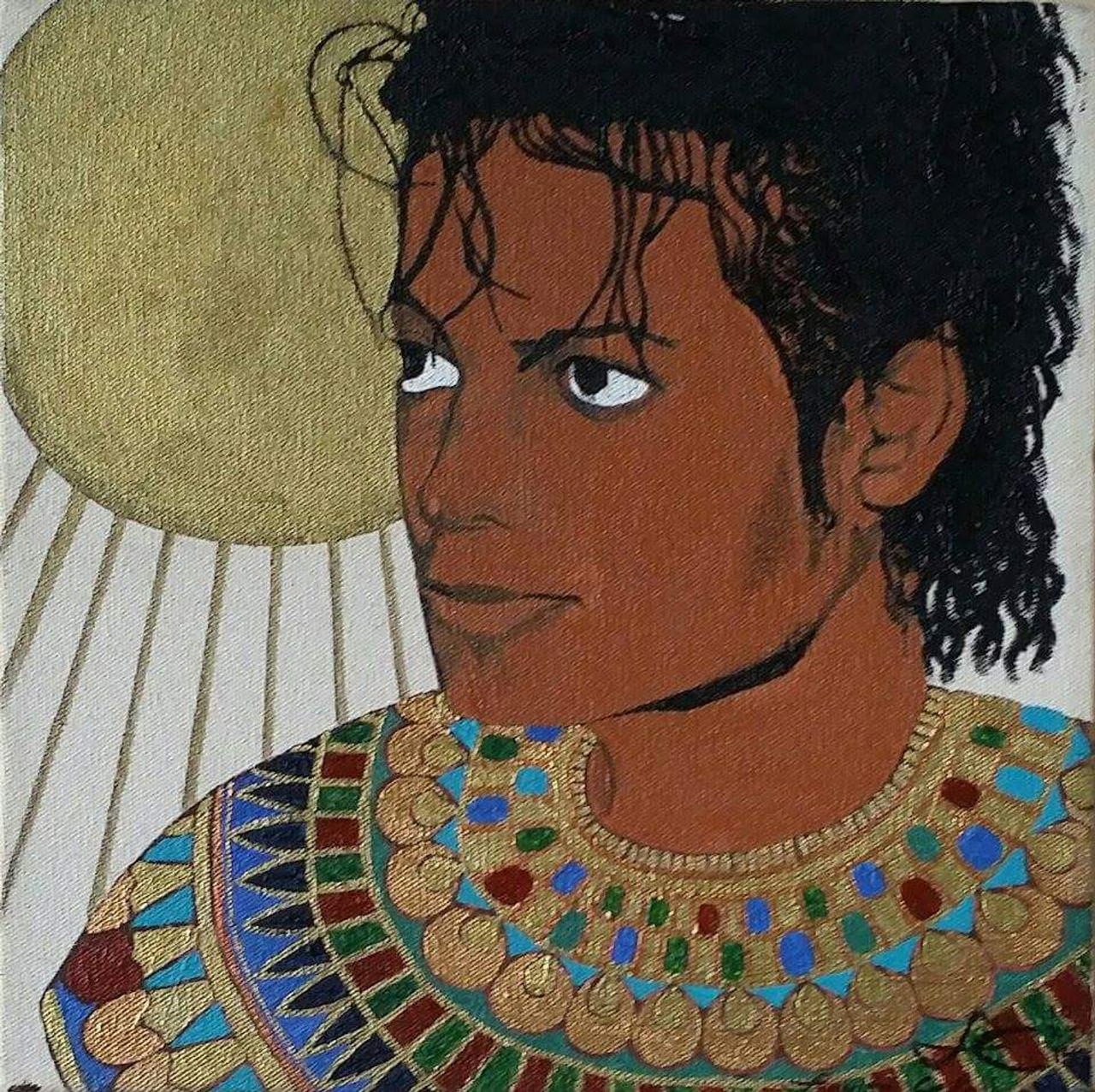 12 x 12 The Sun of RA: MJ (Michael Jackson)