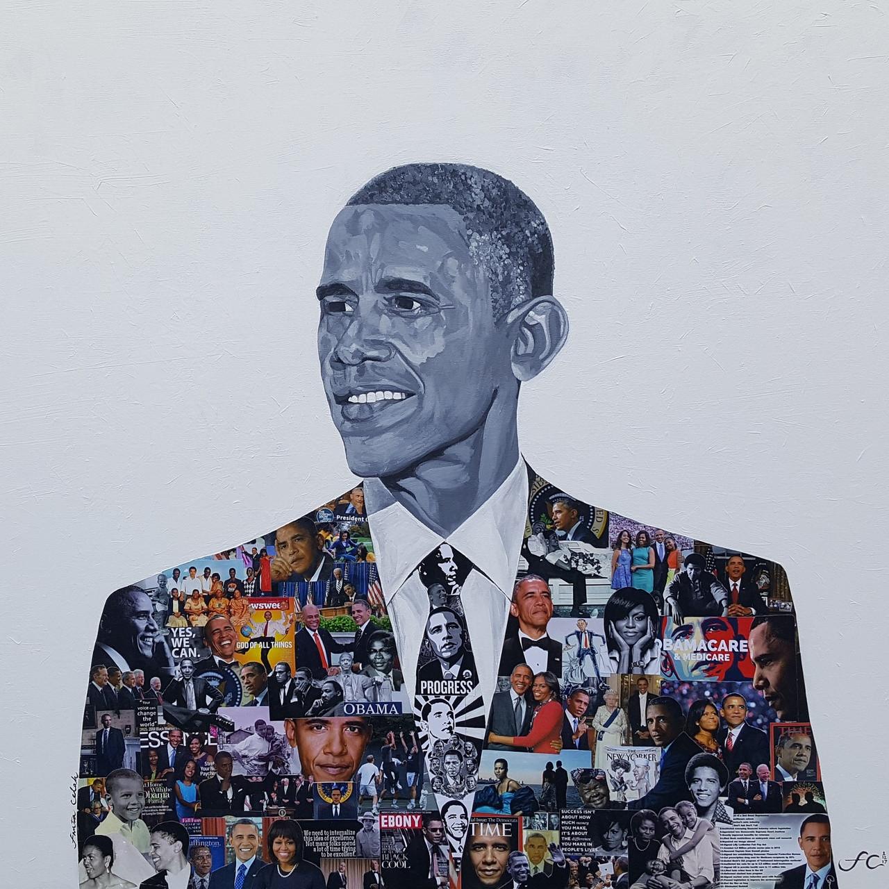 12 x 14 President Barack Obama