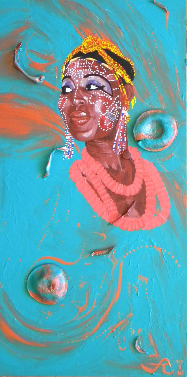 12 x 18 The Shrine: Queen Kuti