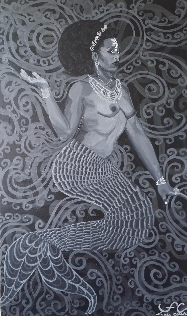 Primordial Beings I: Yemonja (Mermaid)